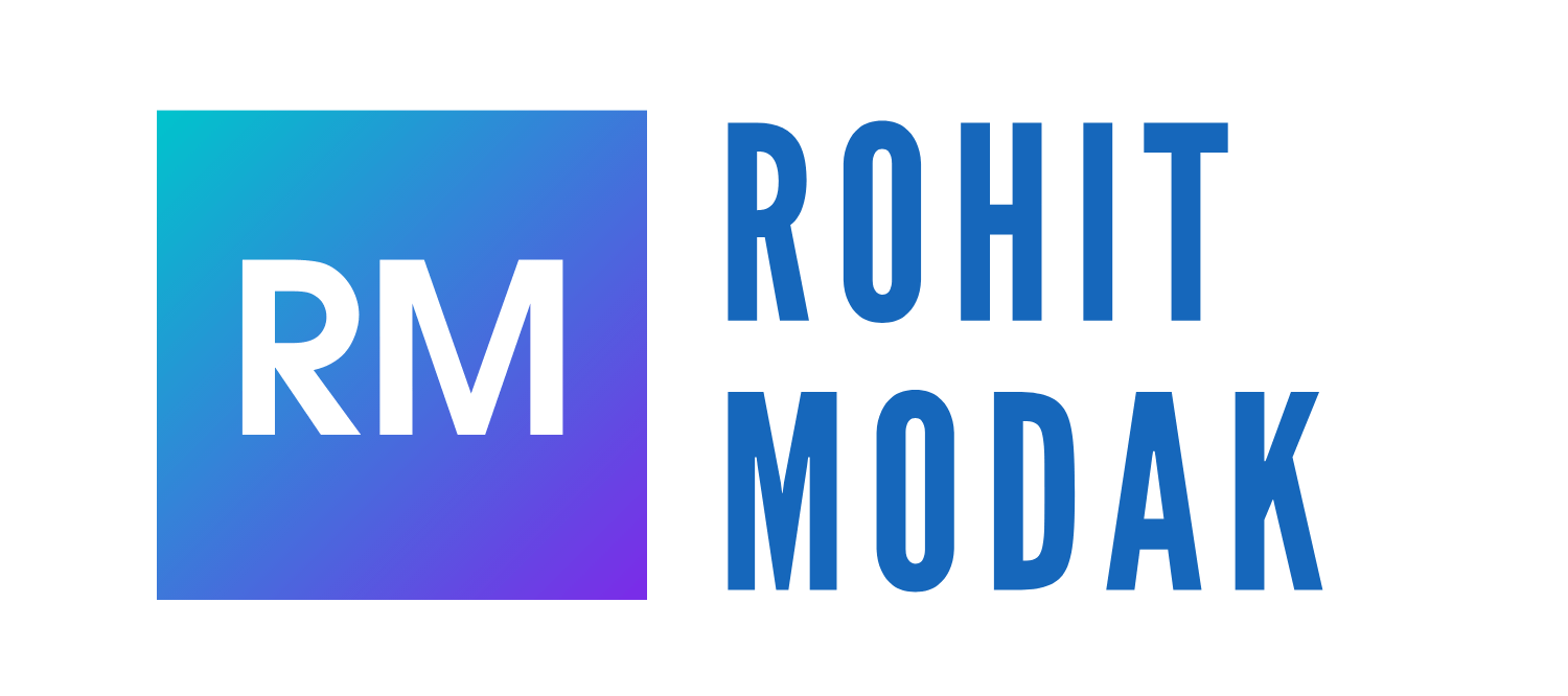 A Blog by Rohit Modak